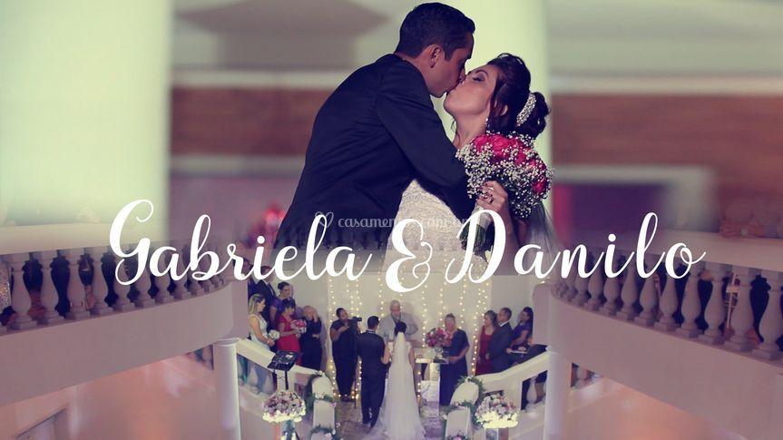 Capa video Gabriela e Danilo