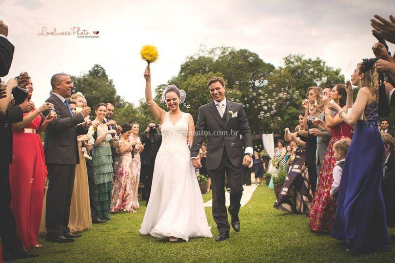 Casamento de dia ao ar livre