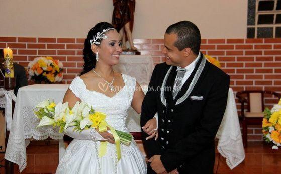 Parabéns ao novo casal
