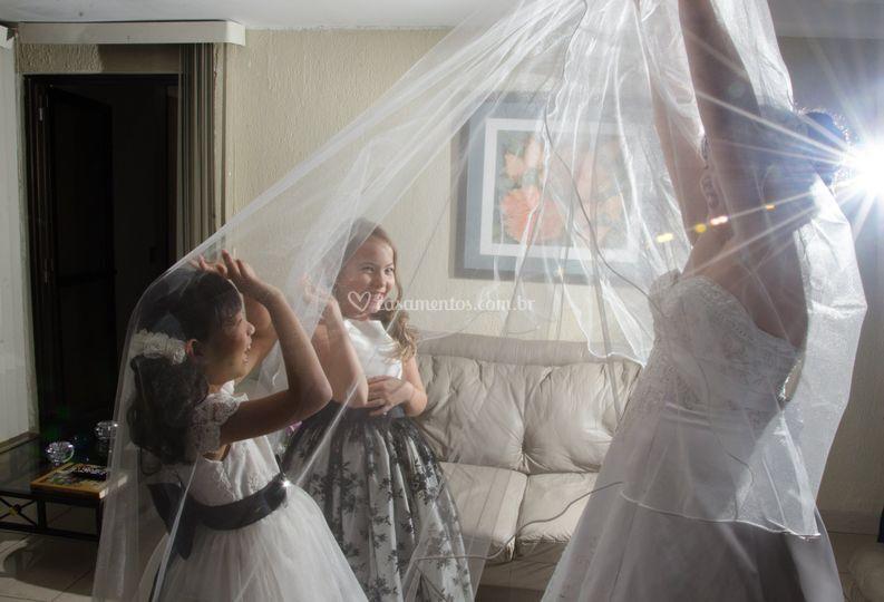 Farra da noiva e as daminhas