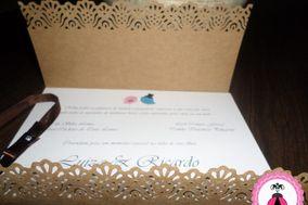 Joaninha de Morango Convites