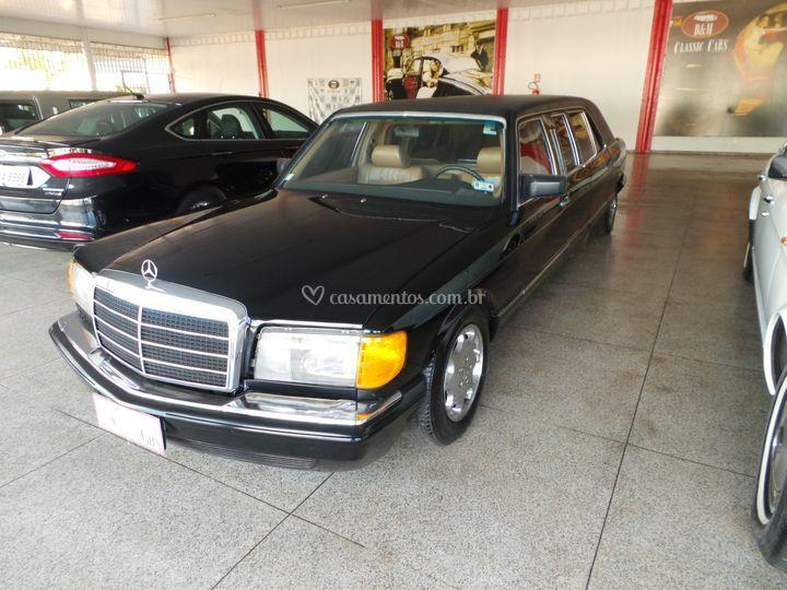 Limousine Mercedez Benz SEL