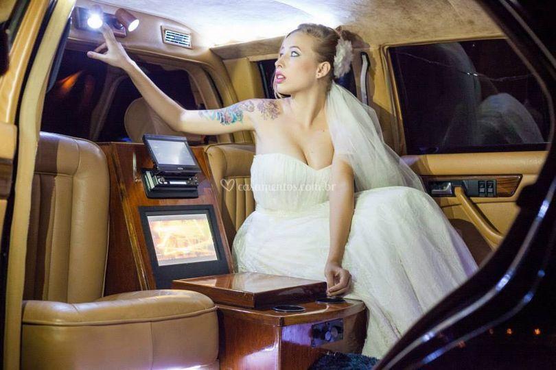 Noiva Limo. Mercedez