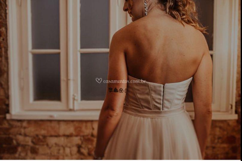 Detalhes noiva