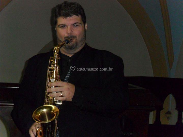 Saxofone na Igreja Catedral