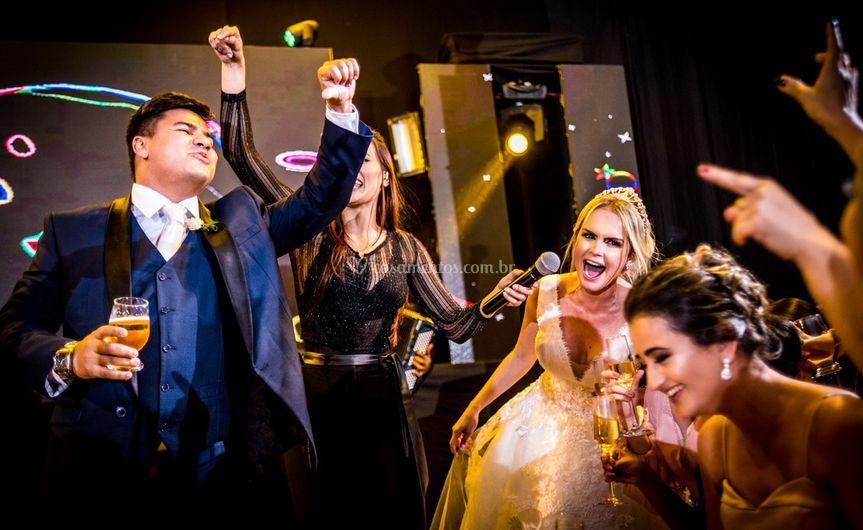 Mikaely Lahass com Banda Baile