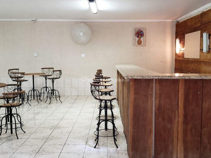 Mesas do bar