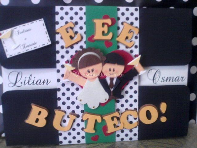 """Convite """"buteco"""""""
