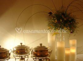 Decoração com velas