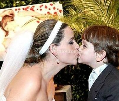 Noiva e filho