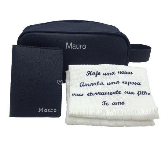 Kit masculino com toalha