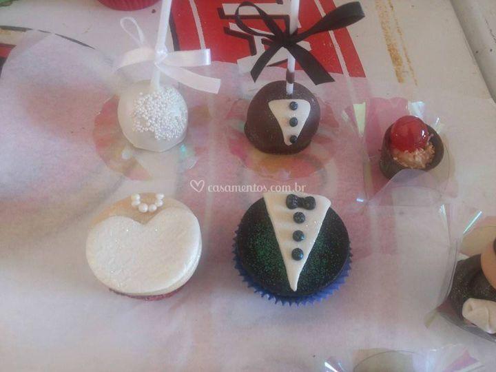 Cupcakes modelados