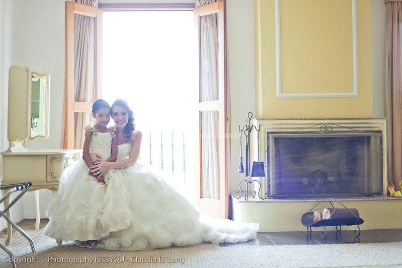 A noiva esperando