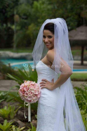 Noiva Ana Paula - Garden Party