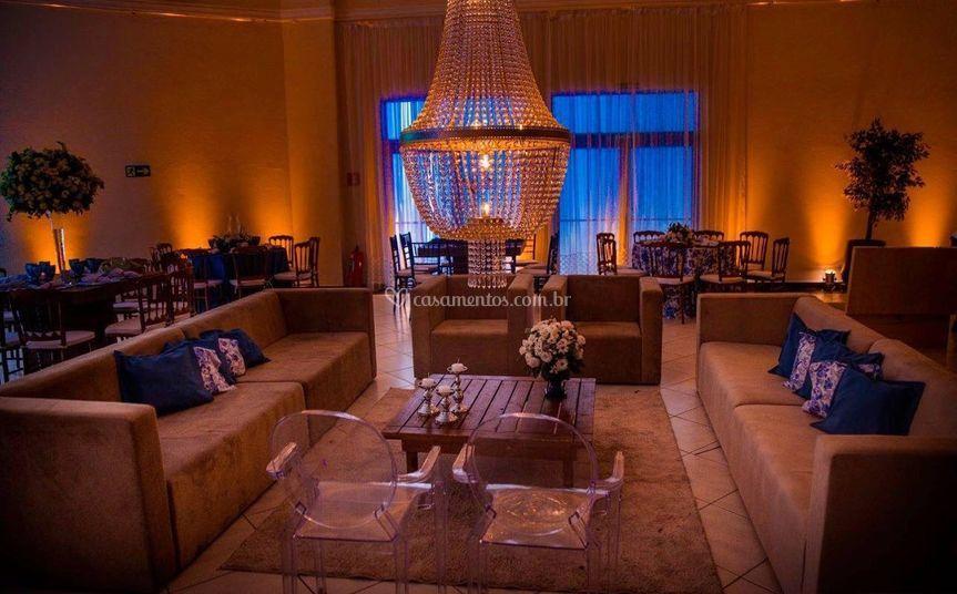 Lounge a meia luz