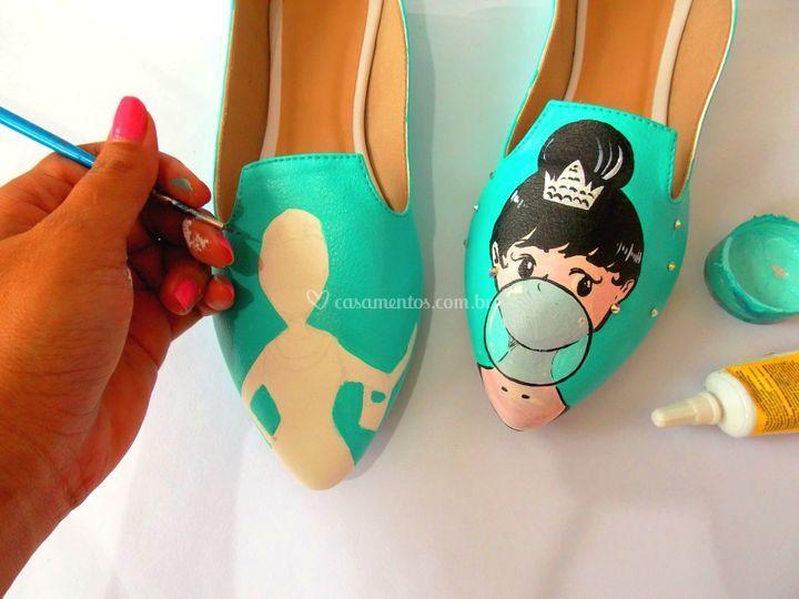 Sapato Dama exclusivo