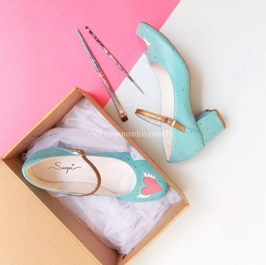 Sapato Boneca Personalizado