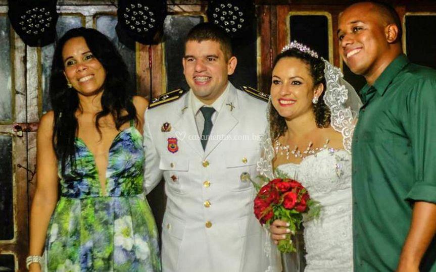 Casamento wanes e gil