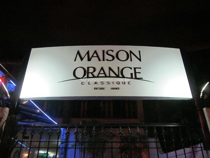 Maison Orange Classique