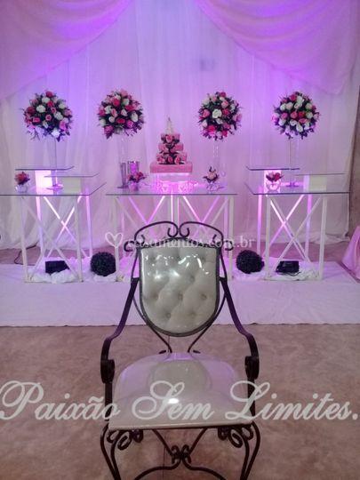 Cadeira para cerimonia