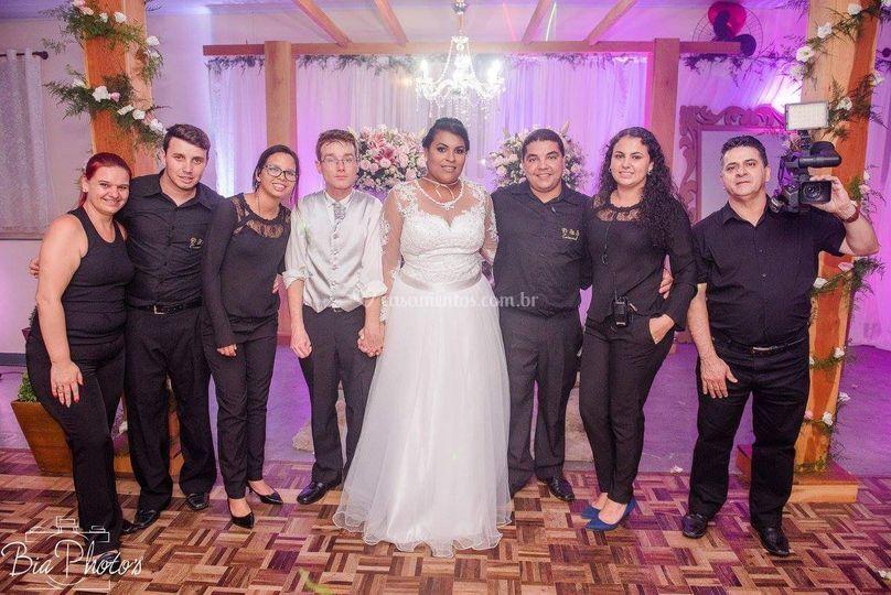 Equipe casamento Ester