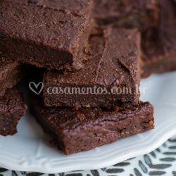 Brownie com Brigadeiro