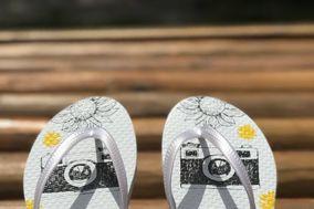 Pitanga Sandálias Personalizadas