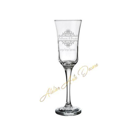 Taça champanhe Jasmim.