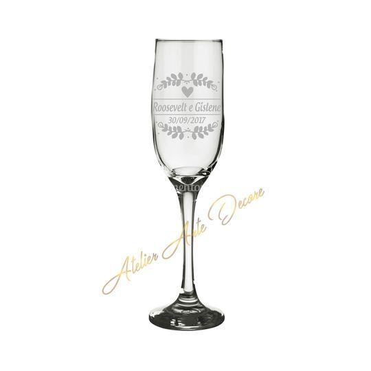 Taça para champanhe Imperatriz