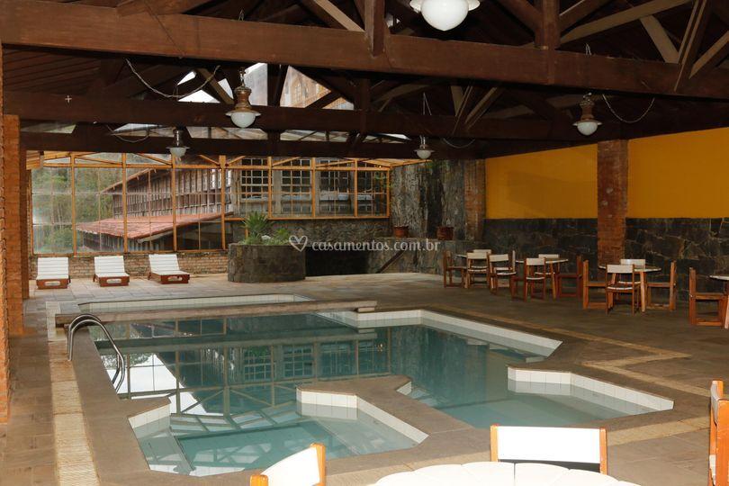 Uma maravilhosa piscina