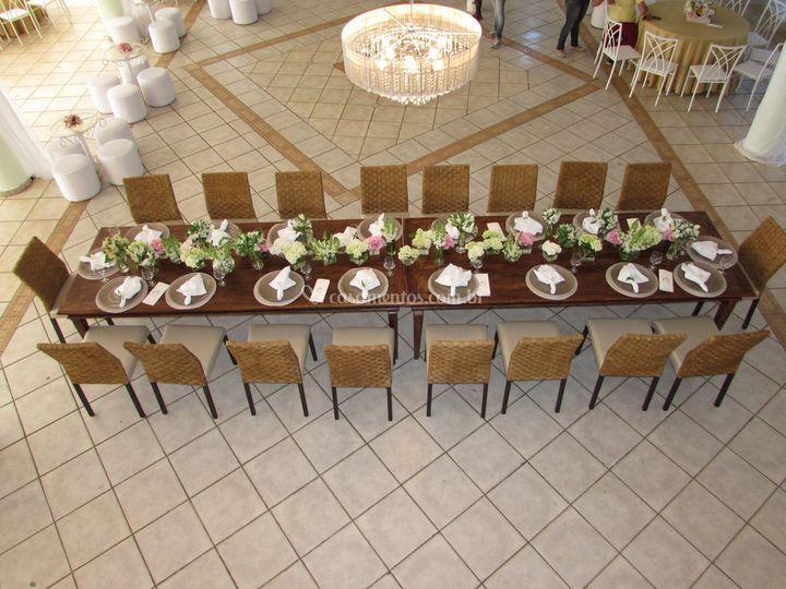 Salão Do Canton - Mesa da fam