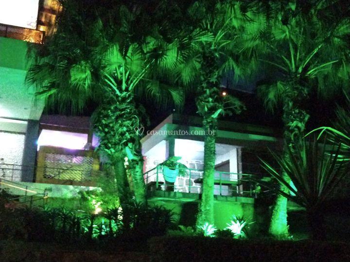 Iluminação cênica ambiente