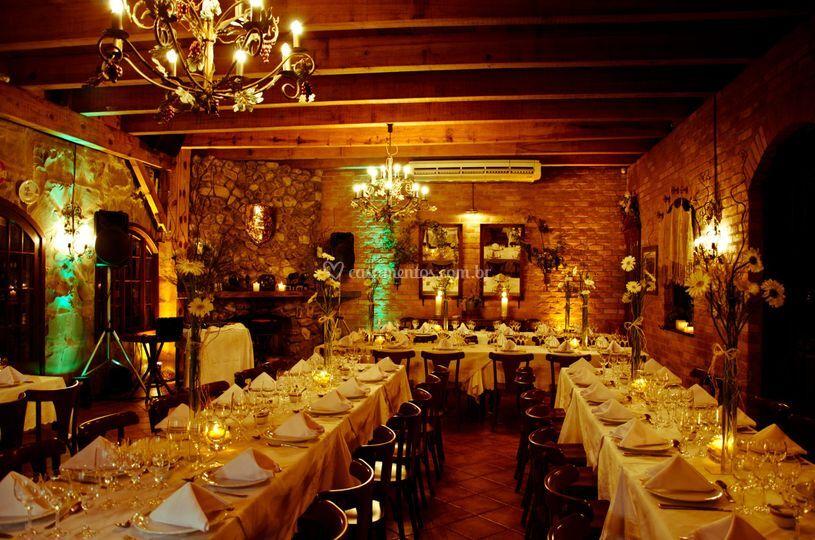 Restaurante decorado