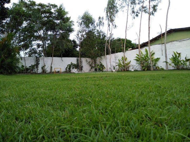 área gramada