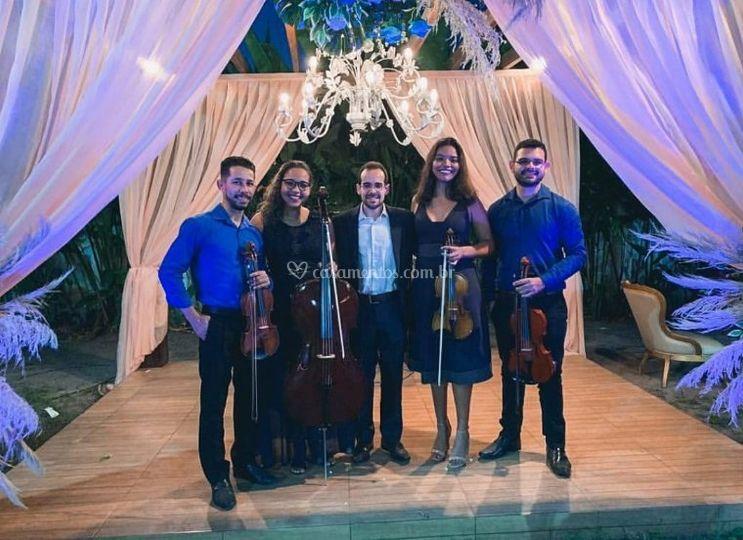 Quarteto de Cordas + Piano Bwp
