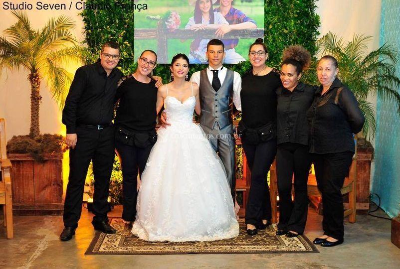 Casamento Geovana e Willian