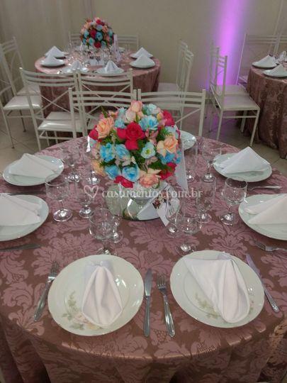 A mesa bonita