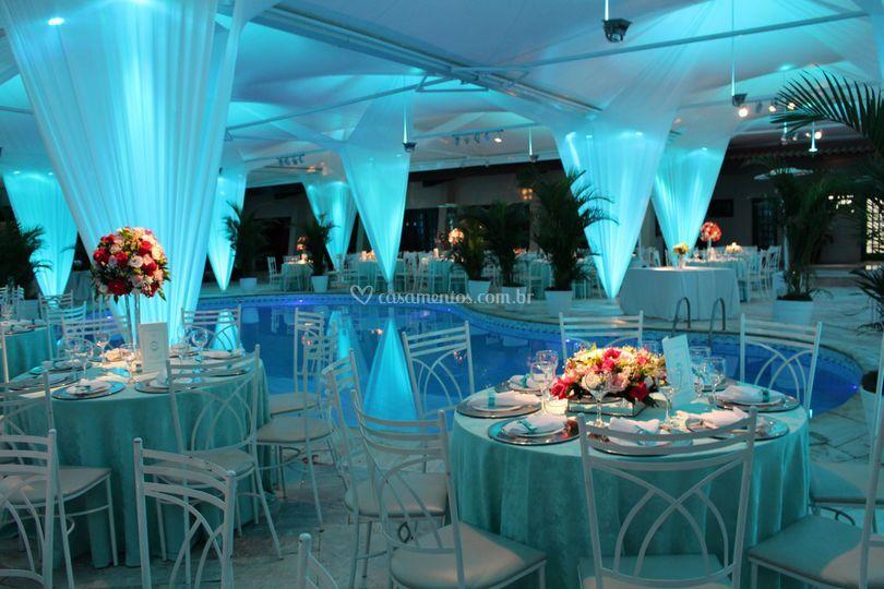 Festa azul