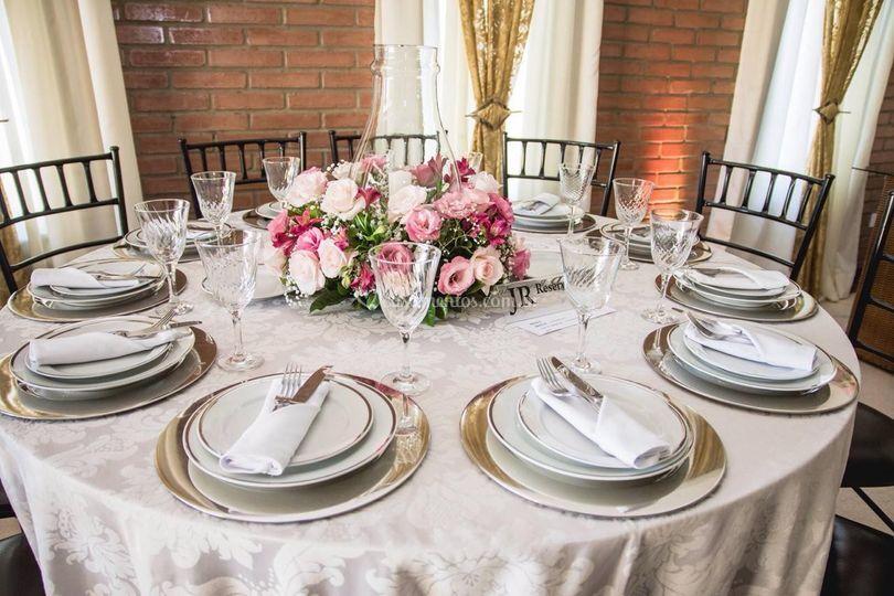 Mesa para 10 convidados