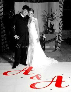 Recém-casados - cobertura festa