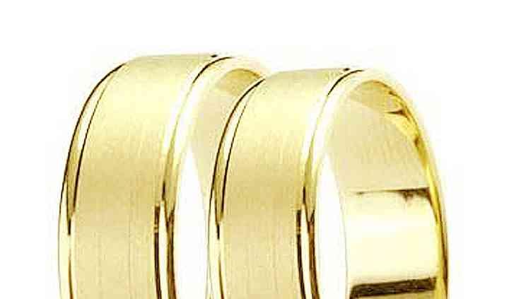 Aliança em Ouro  18 k 14 grama