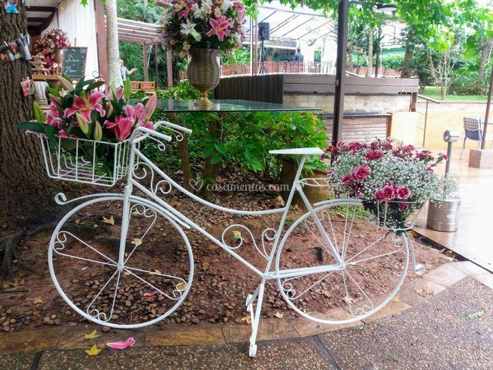 Bicicleta cenográfica