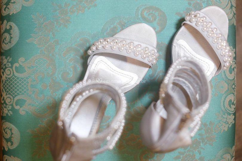 Sandália casamento