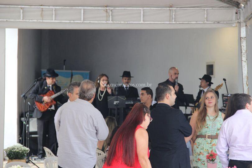 Festa casamento no sítio