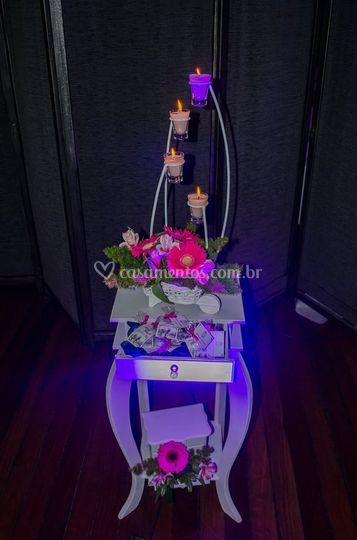Decoração com velas decoração
