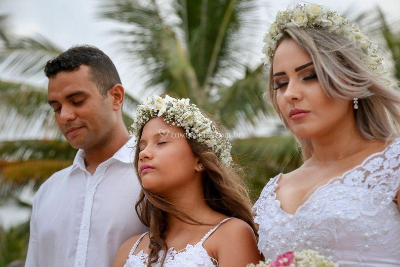 Durante a Cerimônia