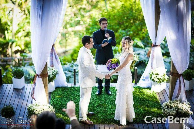 Deck para o casamentp