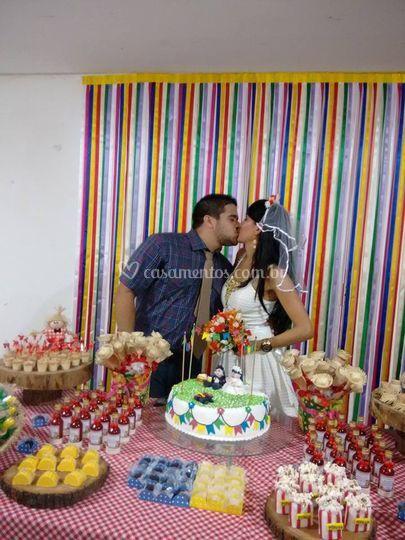 Noivos Romero&Anna - chá bar