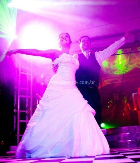 Dança romantica e balada