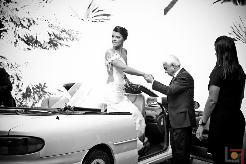A chegada da noiva